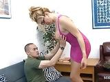 TS Shemale Gianna Rivera Seduce normal Guy to Fuck her Anal